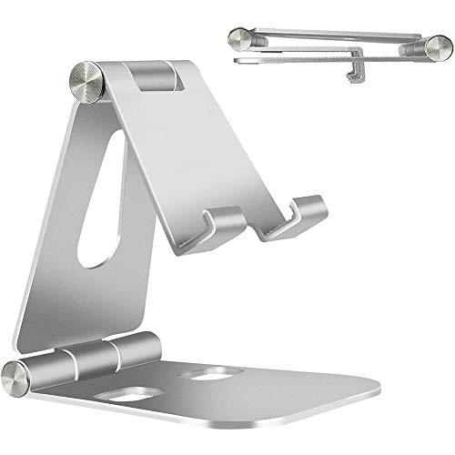 Soporte Móvil Ajustable , Multiángulo Soporte Tablet , Soporte Móvil de Aluminio,...