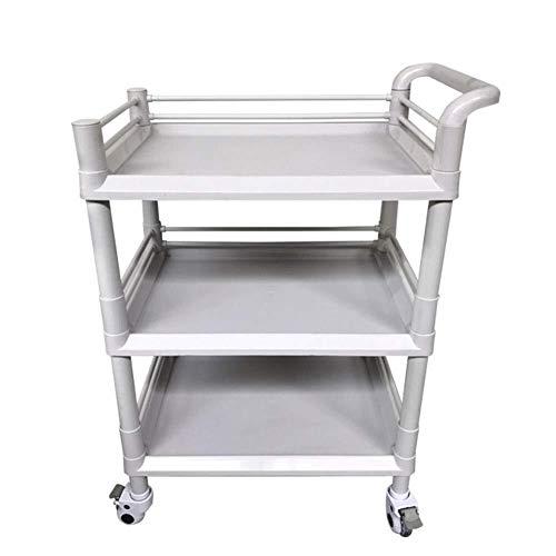 Schoenenrek multi-layer eenvoudige home Dienst Carts White Beauty Salon Mobile Trolley Catering Tool Utility Car, Groot for Magazijn, Garage, schoonmaken of meer Ruimtebesparend opbergrek