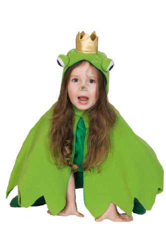 Rubie's 1 2208 104 - Frosch Cape Kostüm, Größe 104