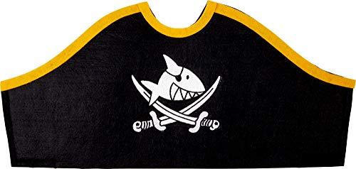 Coppenrath Verlag 16767 Piratenhut Capt'n Sharky (ca. 40 x 19 cm)