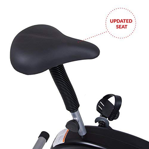 Body Rider BRF700 Exercise Upright Fan Bike (with UPDATED Softer Seat) Stationary Fitness /...