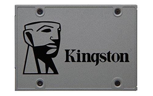 "Kingston SUV500/480G - Unidad de Disco Duro SSD, 480 GB, SATA3, 2.5"", Gris"