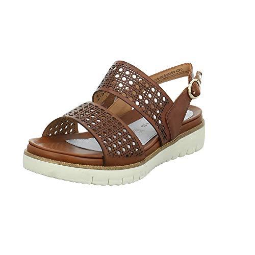 Tamaris 28118-24 Damen Sandale Größe 38 EU Braun (Cognac)