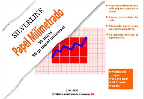 Block 50 Blatt DIN A3 Papier Millimeter 90 Gramm