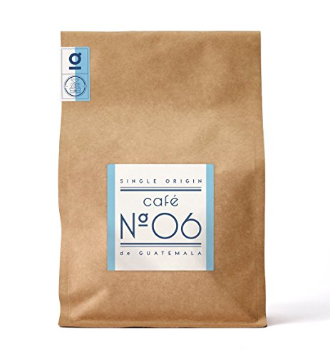 Kaffee N°06 aus Guatemala von Coffee858 – Premium Kaffee-Bohnen – 100% feinster Arabica für Vollautomat und Filter – ganze Bohne (750g)