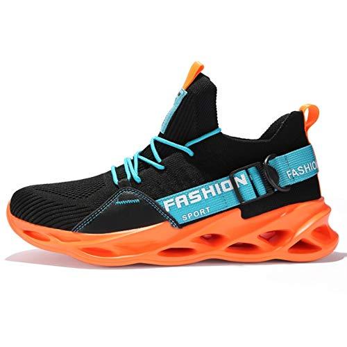 ZNYD Zapatillas de Deporte de Mujeres y Hombres, Zapatillas para Correr Transpirables, Moda Deportiva al Aire Libre Cómodo Parejas Casuales Gimnasio Zapatos para Hombre