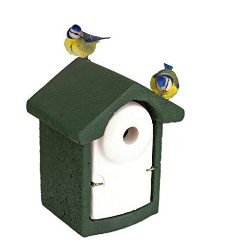 Nisthöhle Nistkasten Kleinvögel Einflugloch 28 mm Meisenkasten Meisen Kasten Vogelhaus Holzbeton