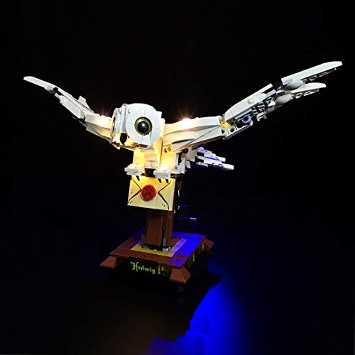 SENG Juego de iluminación LED para Harry Potter Hedwig, compatible con Lego 75979 (modelo no incluido)