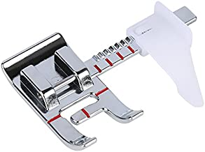 Smart H Adjustable Guide Sewing Machine Presser Foot. Fits for Low Shank Domestic Sewing Machine. Snapping On Brother, Babylock, Singer, Janome , Juki, New Home.