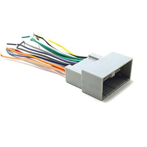 Feeldo Autoradio Interface audio amplificateur stéréo Fil Harnais Plug CD/DVD stéréo