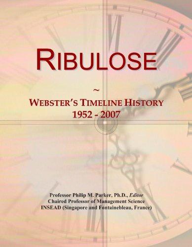 Ribulose: Webster's Timeline History, 1952 - 2007