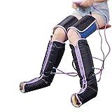 clauking Masajeador de Piernas con Compresion, Masajeador de Pies Piernas de Compresión de Aire con 9 Modos para Aliviar la Fatiga Améliorer la Circulación Sanguínea