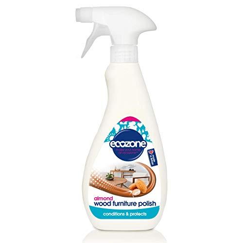 Ecozone Almond Fragrance Wood Furniture Polish Spray (Polishes & Protects),...
