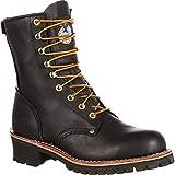 Georgia Boot Men's 8' Safety Toe Logger Boot