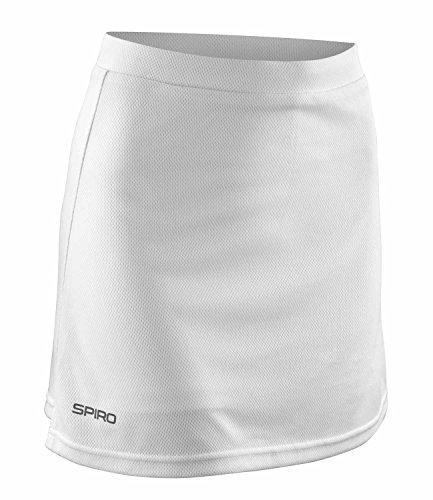 Spiro Pantalon de formation de hockey Jupe-short pour femme Large Blanc - blanc