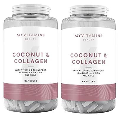 Myvitamins Coconut Collagen - 2 Pack (2 x 60 Capsules)