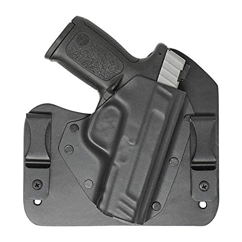 Everyday Holsters compatible with Smith & Wesson Sigma SD9VE and SD40VE Hybrid Holster IWB Right Hand Black