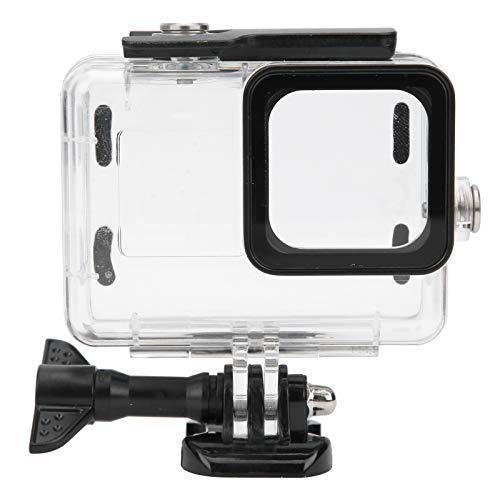 zhoul Estuche para cámara Impermeable de Buceo de 50 m para cámara de acción GoPro Hero 9, Cubierta Protectora Transparente