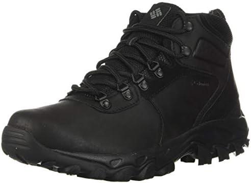 Columbia mens Newton Ridge Plus Ii Waterproof Hiking Boot Black Black 10 Wide US product image
