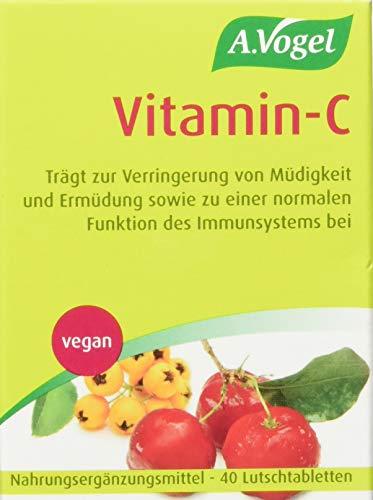 A.Vogel Vitamin-C, 1er Pack, 40 Lutschtabletten (1 x 140 g)