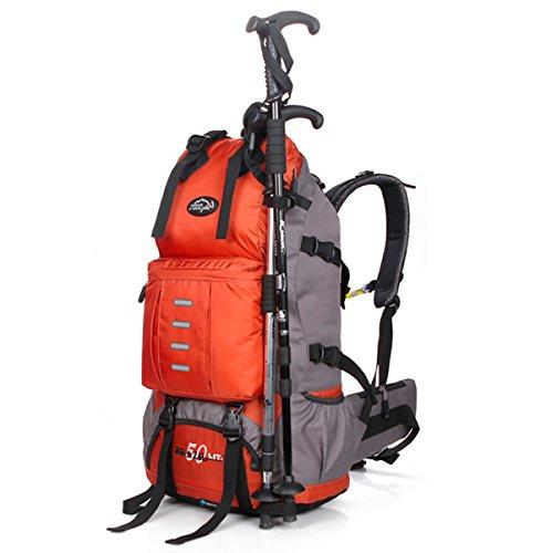 Local Lion Zaino 50L per Trekking borsone zaino unisex professionale Zaino Montagna Zaini Campeggio Outdoor Escursionismo Viaggio Sport