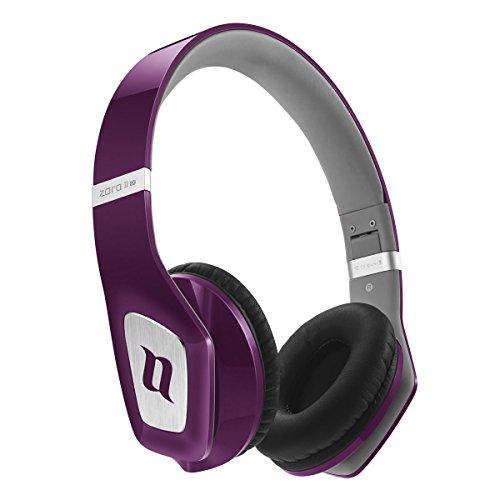 Noontec MF3122(B) Zoro HD II - Auriculares de diadema cerrados, Púrpura