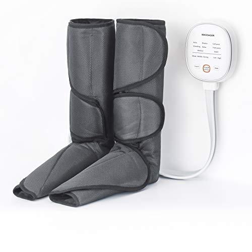 マッサージャー フット エアーマッサージャー温感機能搭載 ふくらはぎ 気圧 6つのマッサージコースを 不眠症改善、解消 家庭用&職場用 敬老の日