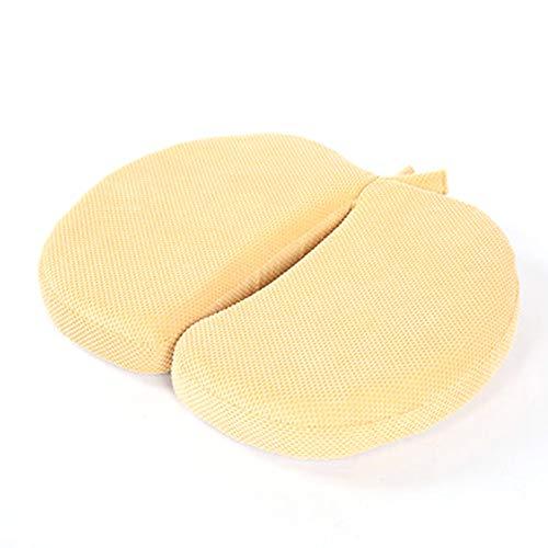 ZXMDP Kussen Coccyx Memory Foam Kussen voor het verlichten van Terug Tailbone Pijn Coccyx Seat Pad voor Auto Kantoor Stoelen Rolstoel