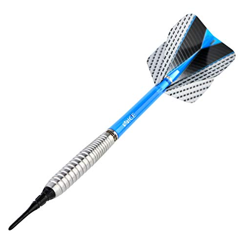 ONE80 Softdart Strike Serie Barrels 80% Tungsten Wolfram Softtip E-Darts Dartpfeil (04 Blau, 16g)