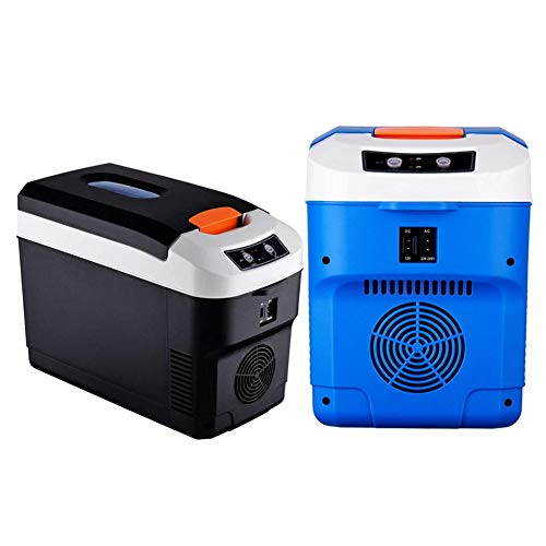 precauti 10L Frigorifero per Auto Piccolo Frigorifero Portatile per Mini frigo Box refrigerante per Auto con Doppio voltaggio per Frigorifero da Campeggio