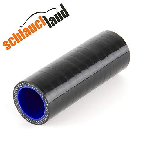 Silikonverbinder Innendurchmesser 22mm schwarz*** Silikonschlauch Verbinder Kühlwasserschlauch