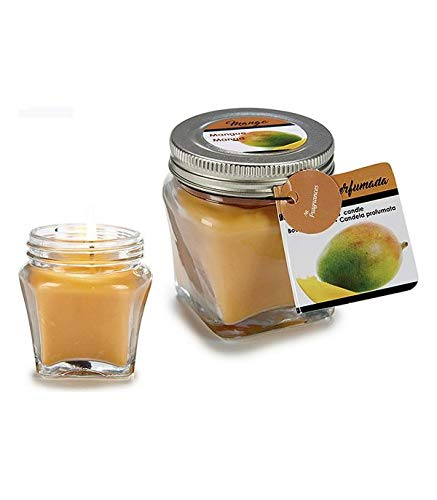 BigBuy Home Vela Perfumada Mango