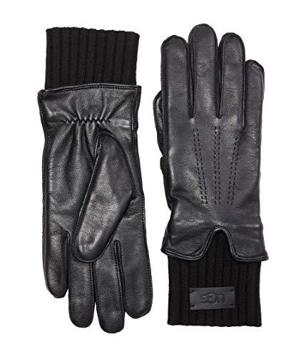 UGG Leather Tech & Knit Handschuhe Damen