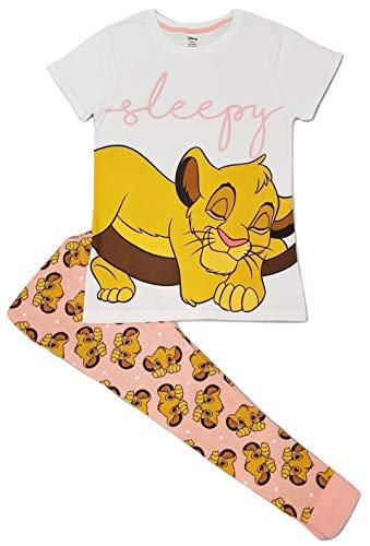 Pijama de rey León para mujer, diseño oficial de Disney