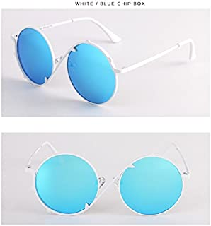 GR Child Sunglasses Kids Sunglasses Children Polaroid Sunglasses Boys Girls Kids Baby Goggles UV400 Mirror New Fashion Colorful Sunglasses Cute Round Frame (Color : Pink)