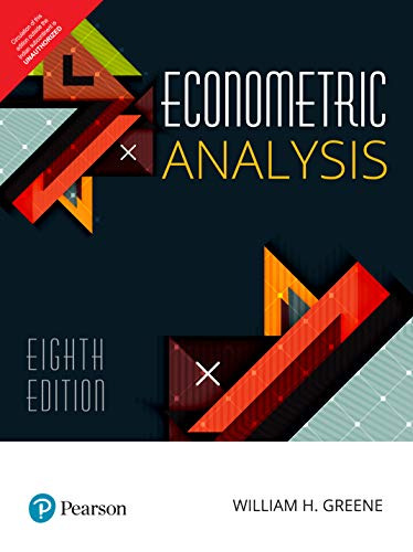 Compare Textbook Prices for Econometric Analysis  ISBN 9789353061074 by William H. Greene