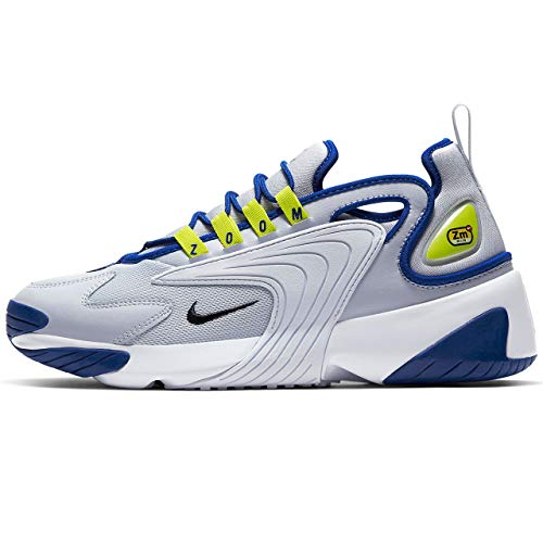 Nike Unisex-Erwachsene Zoom 2K Laufschuhe, blau, 45 EU