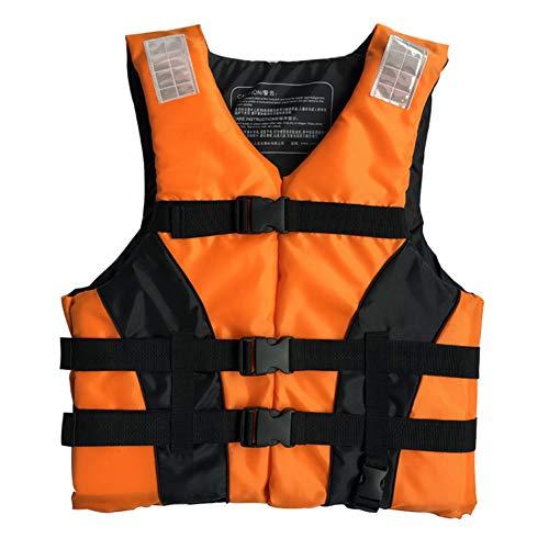 Adultos Vida Salvavidas Ayuda Chaleco Kayak Ski Buoyanncia Pesca Barco De Pesca Watersport Flotan Vida Salvavidas, Chaleco De Ayuda De La Flotabilidad Para Pesca Surfing Buceo Rafting Kayaking,3XL