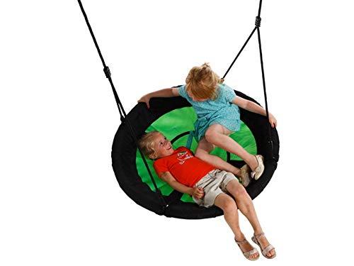 EXIT Aksent Nestschaukel Sitz für Spielturm / Durchmesser 98 cm / belastbar bis max. 100 kg / wasserabweisend / Maße: Ø 98 cm / 5 kg
