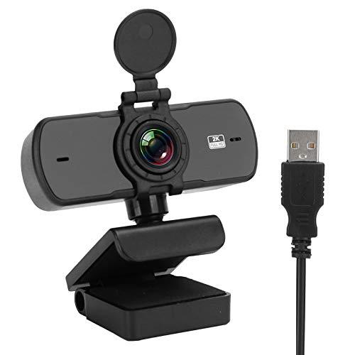 logozoee Cámara para computadora, Gran Angular de Alta definición, Plug and Play, cámara Web con rotación de 360 Grados con Video HD, para transmisión en Vivo(pc-05)