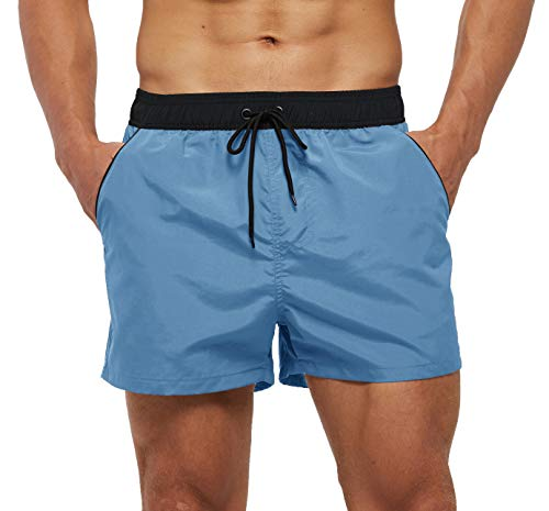 Blue Men's Swimwear