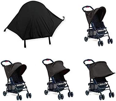 GDOOL Sun Shade for Strollers and Car Seats Black product image
