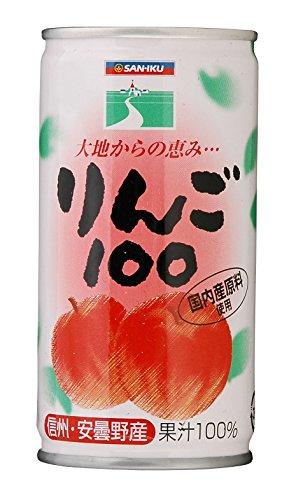 りんご100 190g×30本 缶