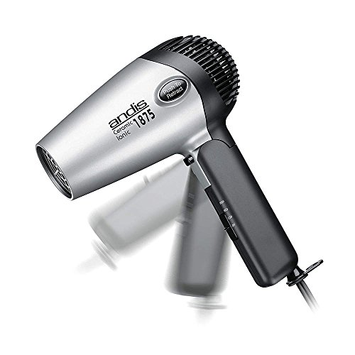 Hair Dryer, Handheld, Black/Silver, 1875 W