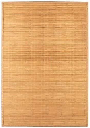 Teppich Bambus Läufer Naturteppich Bambusmatte In- und Outdoor (160 x 230 cm)