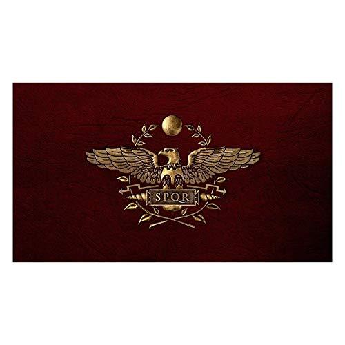 ATEYC Das Alte Rom Flagge, Römische Fahnen Banner 3x5 FT (90 × 150 cm) (Color : C)
