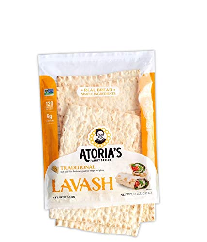 Atoria's Family Bakery Traditional Lavash Flatbread