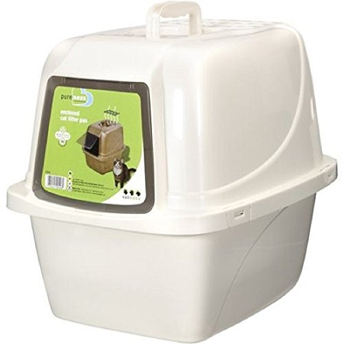 Van Ness Products Covered Cat Litter Box- Large (Large)