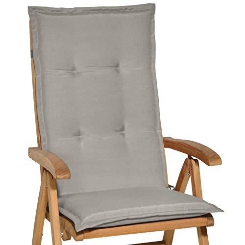 Beautissu Loft - Cojín con respaldo para silla de balcón
