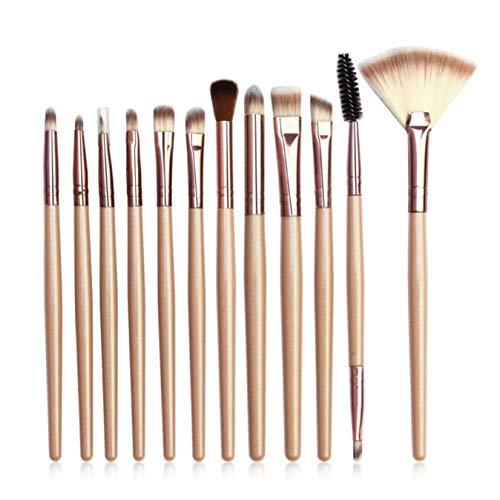 dyudyrujdtry Beste Kwaliteit 12 Stks Pro Kabuki Make-up Borstels Set Foundation Poeder Oogschaduw Blush Brush Kit CHP
